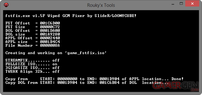 Tuto Wii et vWii] Conversion des ISO Wii et Gamecube : Flash / Hack